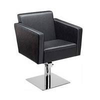 Кресло парикмахерское QUADRO на гидравлике хром