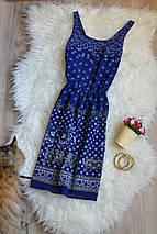 Платье в принт с вырезом на спинке H&M, фото 2