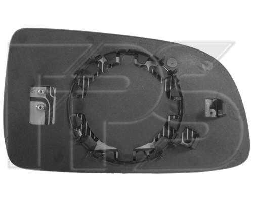Вкладыш бокового зеркала Chevrolet Aveo T250, ЗАЗ Vida - правый