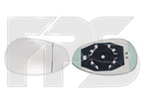 Вкладыш бокового зеркала Fiat Grande Punto 05- левый (FPS) FP 2607 M11