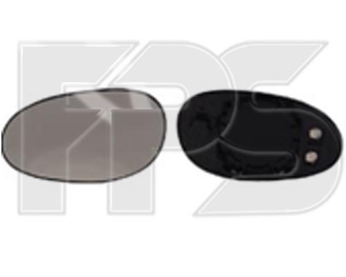 Вкладыш бокового зеркала Smart Fortwo 98-07 левый с обогревом (FPS)
