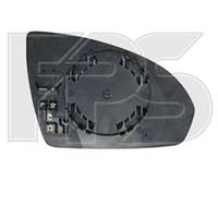 Вкладыш бокового зеркала Smart Fortwo II (451) 07-14 с обогревом левый