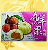Мочи с личи, Fruit Mochi-Lychee, Mochi Khoai Tia, 210г/уп(30г/шт), один вкус, Royal Family, Md