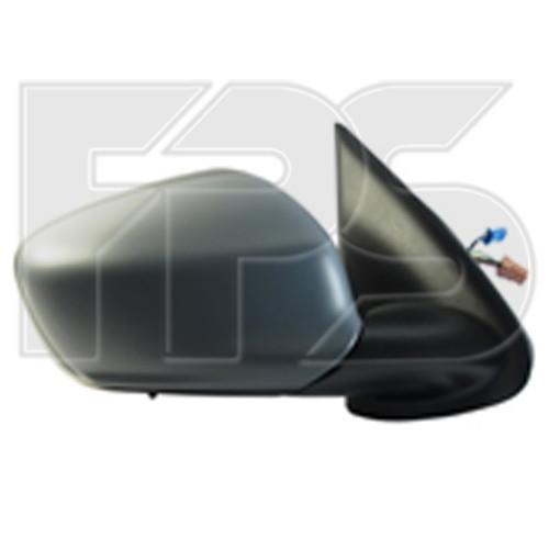 Зеркало Citroen C-Elysee 13-17 левое электрическое с обогревом