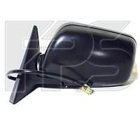 Зеркало боковое Subaru Forester 03-05 левое электрическое с обогревом, глянец