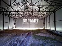 Зернохранилища, склады металлические, ангары