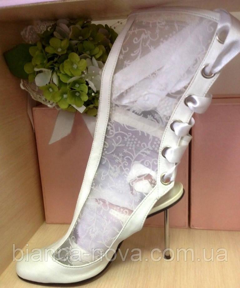5c0185c18 Сапожки кружевные свадебные, цена 1 035 грн./пара, купить в Львове ...
