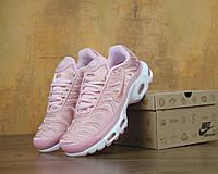 Кроссовки женские Nike Air Max Tn+, найк аир макс тн розовые