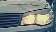 Реснички на фары Фиат Альбеа (Fiat Albea) (2007-) /комплект