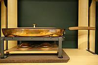 Сковорода медная с подставкой и горелками, фото 1