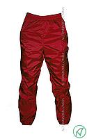 Ветрозащитные штаны Titar красные