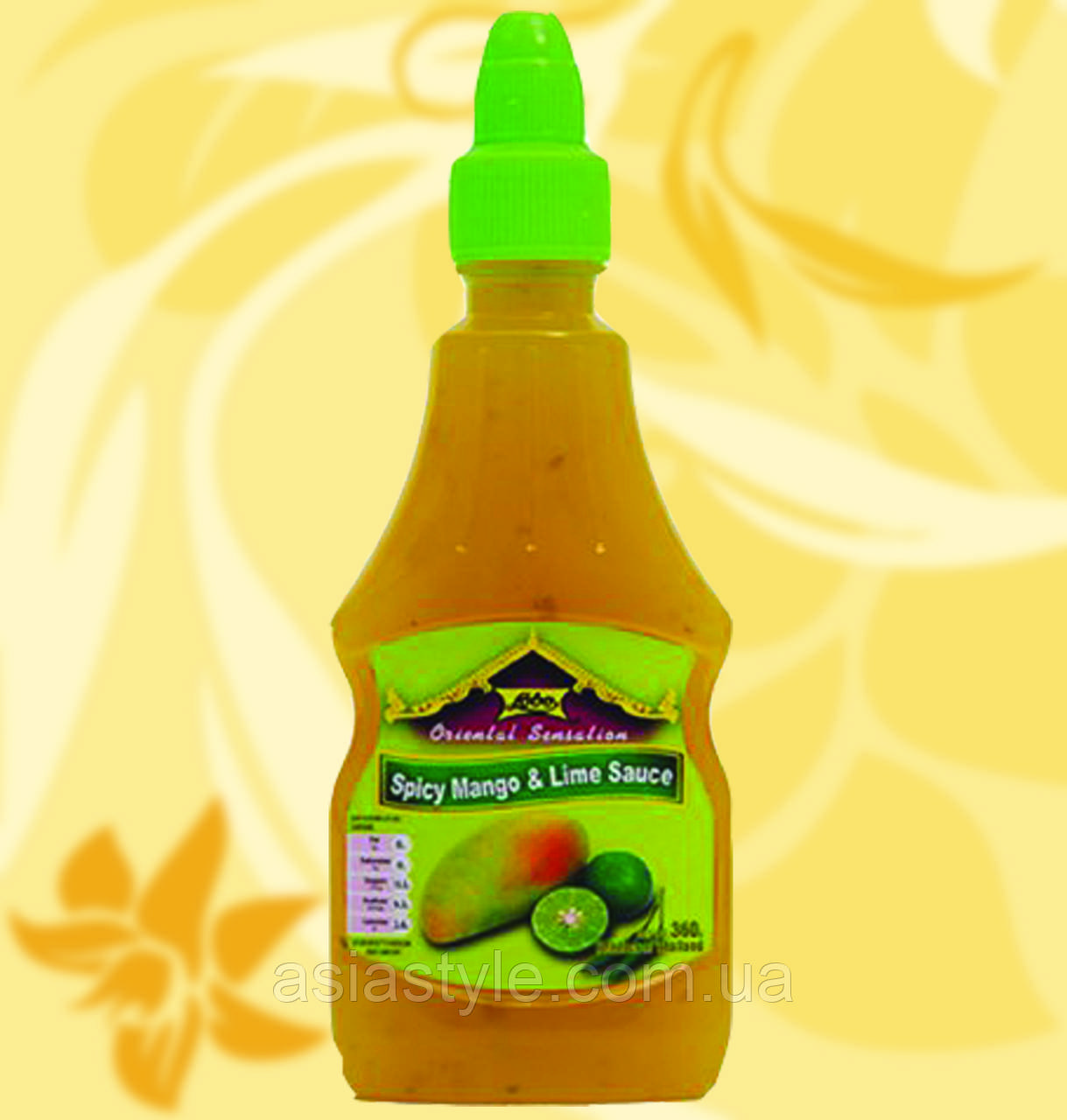 Соус манго-лайм з чилі, Lobo, 300мл, RДж