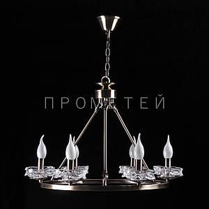 """Люстра """"свеча"""" на 6 лампочек. P5-N2067/6/AB"""