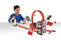Трек Hot Wheels  Ударная Волна серии Track Builder от Track Builder Construction Crash Kit