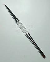 Кисть двухсторонняя для геля и LINER №4, 9 мм