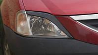 Реснички на фары Рено Логан (Renault Logan) (2004-) /комплект