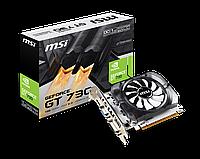 Видеокарта GeForce GT730 OC, MSI, 1Gb DDR3, 64-bit, VGA/DVI/HDMI, 1006/1600MHz (N730K-1GD3/OCV2)