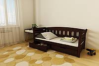 """КРОВАТЬ ДЕТСКАЯ (ПОДРОСТКОВАЯ) """"Тедди"""" 80*190  размеры дерево бука массив , детская кровать купить Украина"""