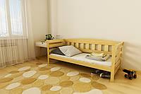 """КРОВАТЬ ДЕТСКАЯ (ПОДРОСТКОВАЯ) """"Тедди"""" 90*200  размеры дерево бука массив , детская кровать купить Украина"""