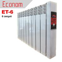 "Электрорадиатор EcoTerm Econom ET-6, стандарт 76"""