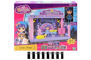 Игровой набор Сцена для рок вечеринки + кукла Lisa 60214