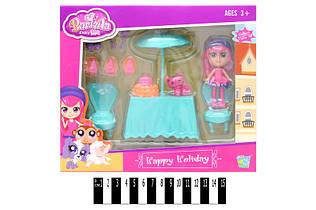 Игровой набор кухонный + кукла Lisa 60224