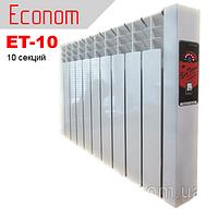 "Электрорадиатор EcoTerm Econom ET-10, стандарт 76"""