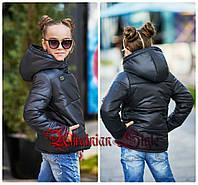 Детская модная демисезонная курточка для девочки