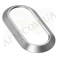 Накладка на камеру для iPhone 7 серебрянная