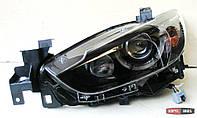 Mazda 6 оптика передняя тюнинг, фары под ксенон стиль Spoon