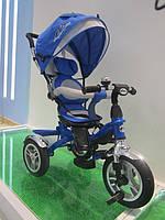 Детский велосипед 3-х колес TR17005,складной козырек,надувные колеса