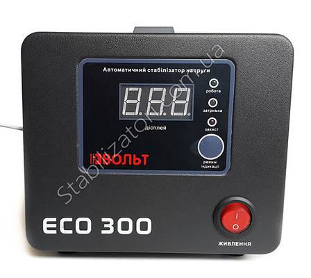 Вольт ЕСО 300 - Лучший стабилизатор для Котла насоса Стабілізатор напруги для газового котла, фото 2
