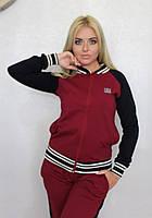 Спортивный костюм женский двухцветный, фото 1