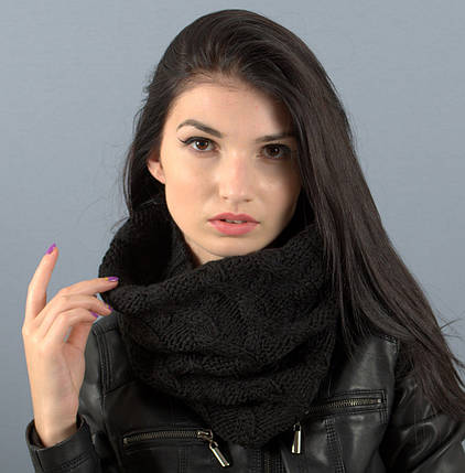 Вязаный шарф-хомут Капелла, фото 2