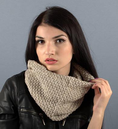 Вязаный шарф-хомут Nelli, фото 2