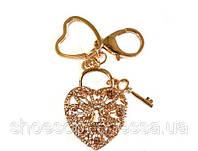 Брелок Сердце с ключиком