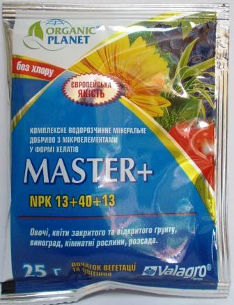 Добриво Мастер+ (Master+) 25г