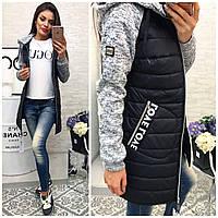 Куртка женская, модель 768,  черная 42
