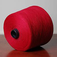 Пряжа-летняя, красный тёмный (бобина 350 г)