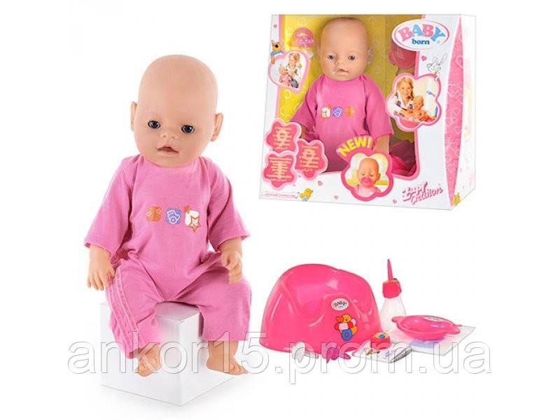 Кукла, пупс. Baby. 2 соски. BB 8001-1