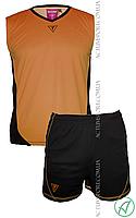 Волейбольная форма Triumph Titar оранж/черная