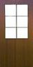 Двери межкомнатные Классика со стеклом
