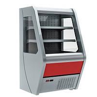 Холодильная горка Carboma 1260/700 ВХСп-0,7 Полюс (регал)