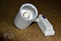 Светодиодный светильник трековый Feron AL100 COB 12W 4000K белый