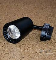Светодиодный светильник трековый Feron AL100 COB 8W  4000K чёрный