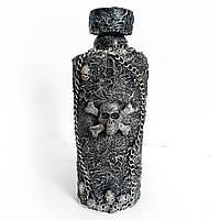 Декор бутылки «Летучий голландец» Декор для Хэллоуина Ручная работа  , фото 1
