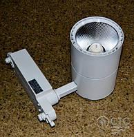 Светодиодный светильник трековый Feron AL102 COB 12W 4000K белый