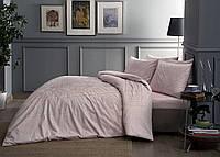 TAC Евро комплект постельного белья сатин Fabian pembe