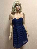 Вечернее женское синее платье Glamorous 36р (XS)