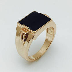 Чоловічий перстень Катар, розмір 19, 20, 21, 22, 23 ювелірна біжутерія